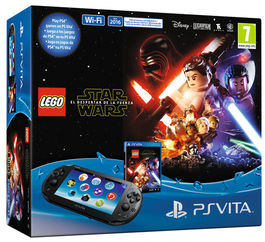 CONSOLA PS VITA WIFI NEGRA + LEGO STAR WARS