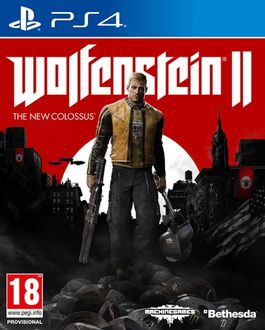 WOLFENSTEIN 2 - THE NEW COLOSSUS -PS4-