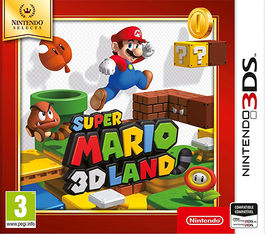 SUPER MARIO 3D LAND - SELECTS -N3DS-
