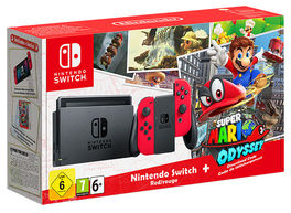 CONSOLA NINTENDO SWITCH PACK SUPER MARIO ODYSSEY