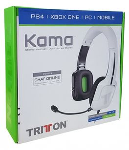 TRITTON KAMA 3.5MM STEREO HEADSET BLANCO - PS4/XBONE/MOBILE