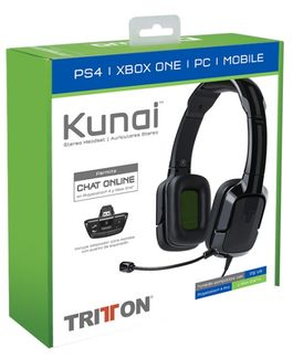 TRITTON KUNAI STEREO HEADSET NEGRO (PS4/XONE/MOBILE)