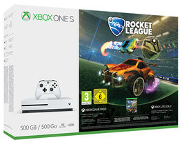 CONSOLA XBOX ONE S 500GB ROCKET LEAGUE + 3M LIVE GOLD