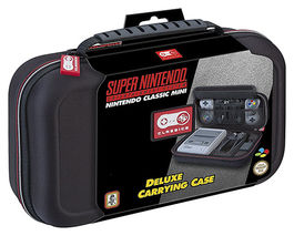 DELUXE CARRYING CASE SNES CLASSIC MINI - LICENCIA OFICIAL