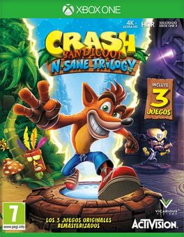 CRASH BANDICOOT - N. SANE TRILOGY -XBONE-