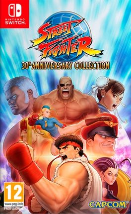 STREET FIGHTER 30TH ANNIVERSARY COLLECTION -SWITCH-