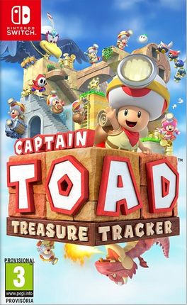 CAPTAIN TOAD : TREASURE TRACKER -SWITCH-