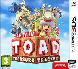 CAPTAIN TOAD : TREASURE TRACKER -N3DS-