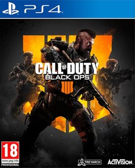 CALL OF DUTY BLACK OPS 4 -PS4-