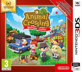 ANIMAL CROSSING NEW LEAF - WELCOME AMIIBO - SELECTS -N3DS-