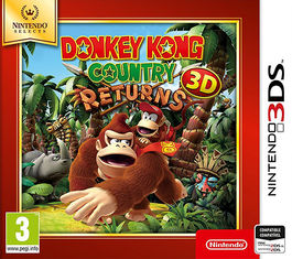 DONKEY KONG COUNTRY RETURNS 3D SELECTS -N3DS-