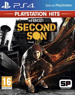 INFAMOUS : SECOND SON - PLAYSTATION HITS -PS4-
