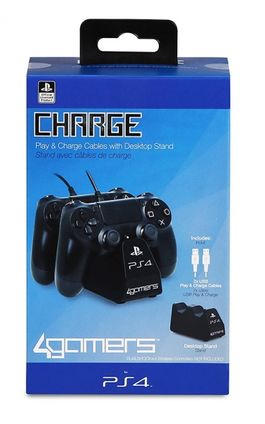 LICENSED TWIN PLAY CHARGE PS4