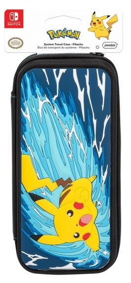 FUNDA DELUXE TRAVEL CASE - EDICIÓN PIKACHU BATTLE