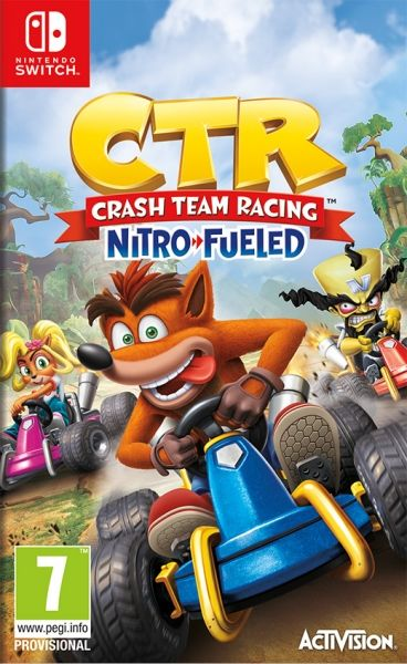 CRASH TEAM RACING NITRO FUELED -SWITCH-