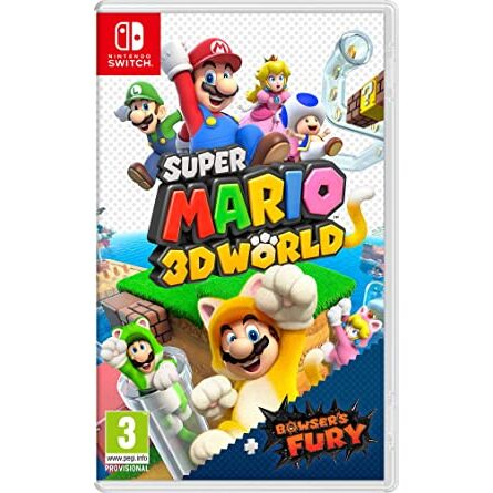 Switch - Super Mario 3D World + Bowsers Fury